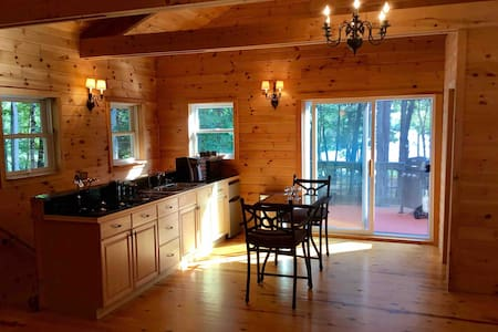 Charming waterfront Chalet in Belgrade, Maine!