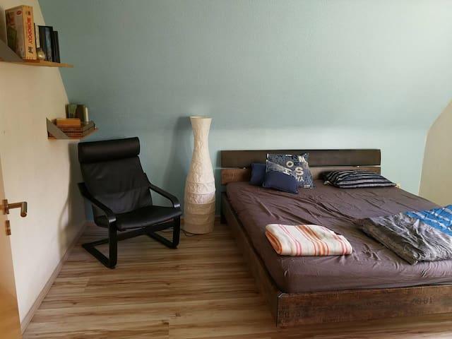 Ruhiges Zimmer mit Doppelbett (WLAN/WiFi)