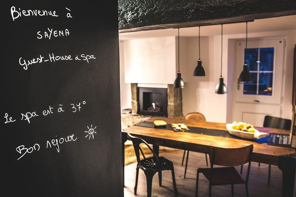 Bienvenue à Sayena Guest House & Spa La Baule - location de vacances avec spa
