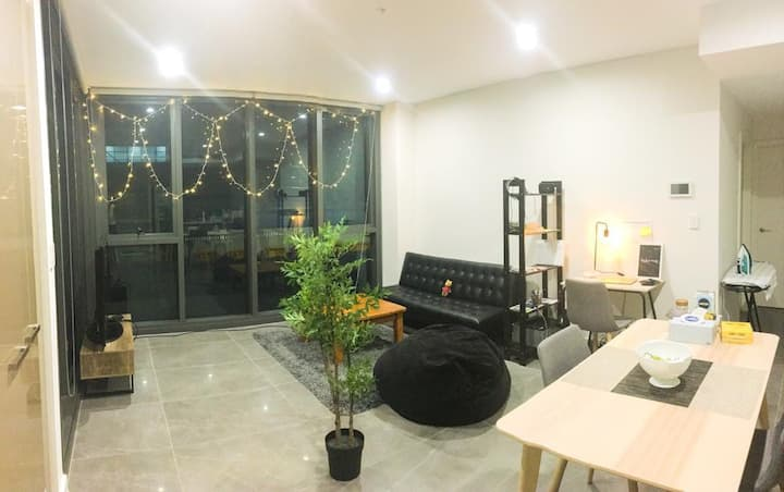 Master bedroom in Luxury Apartment