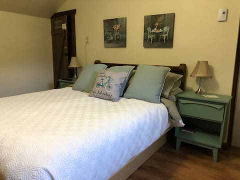 Basic Queen size bed room
