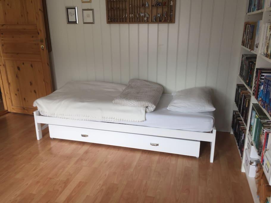 The singel bed