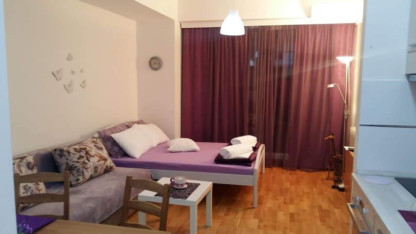 Apartman 64 Skopje city garden NJ7