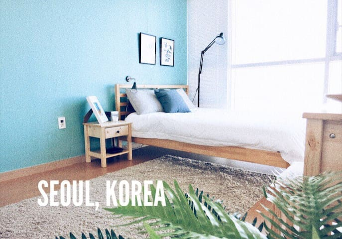 Bright Riverview House ★Hongdae 4 min★