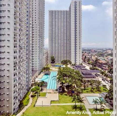 1BR FULLY FURNISHED @SMDC GRASS QC - Quezon City - Condo