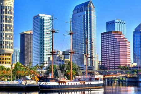 Vibrant Room - Downtown Tampa! - Tampa - Haus
