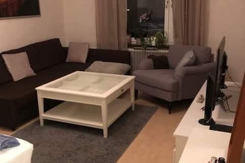 Mindre lägenhet nära Nyköpings hamn