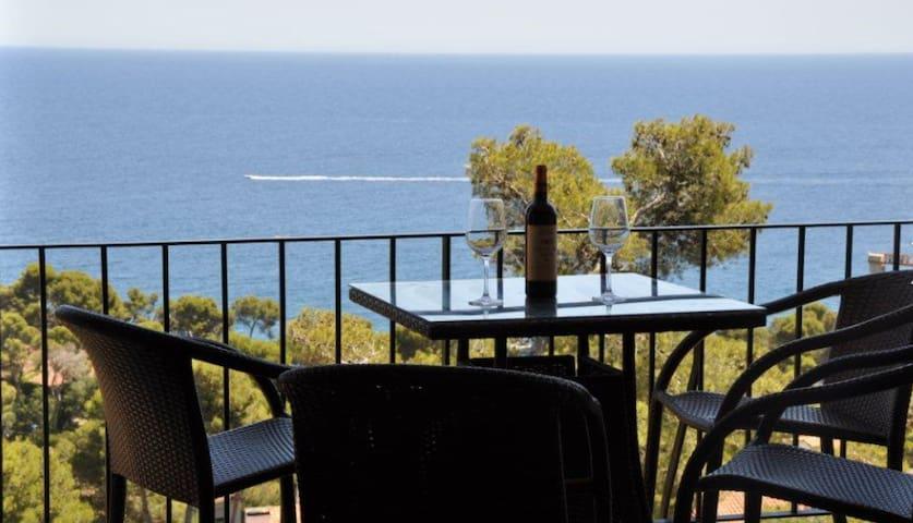 Spectacular Mediterranean view!