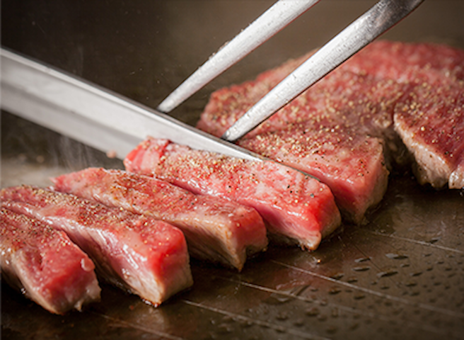 Kobe is famous for its great beef! If you come to Japan, please try a Kobe beef!