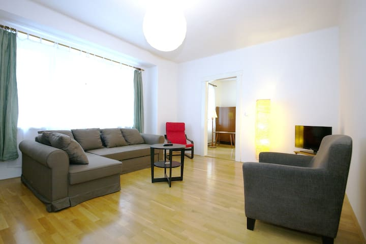 Stylish apt with large terrace by Prague Castle