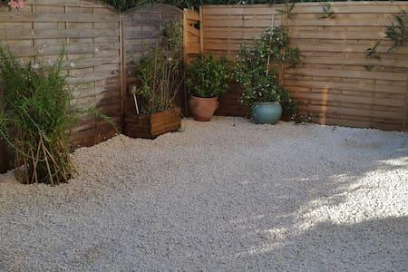 Agréable appartement 2 pièces avec jardin - Lunel