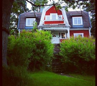 Villa med unik tomt 10 min fr stan - Lidingö - Villa