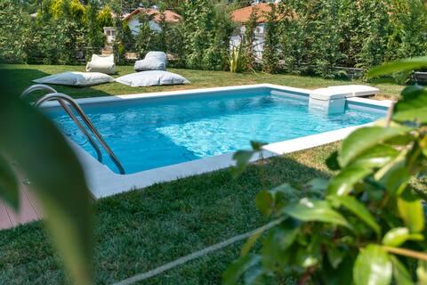 Villa SunModrý súkromný bazén Rachoni 5 hostí