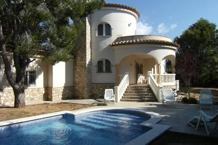 Villa accueillante à 300 mètres de la plage - Tres Calas - 別荘