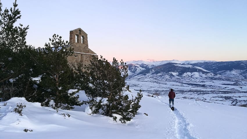 La chapelle du Belloc, à Dorres