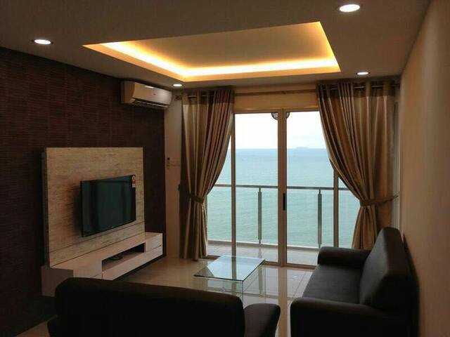 Cozy Seaview Apt. @ Batu Ferringhi - Tanjung Bungah - Appartamento