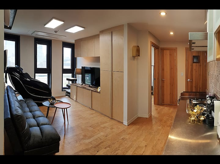 Complete House! Central Seoul, 2BR, Superhost(3yr)