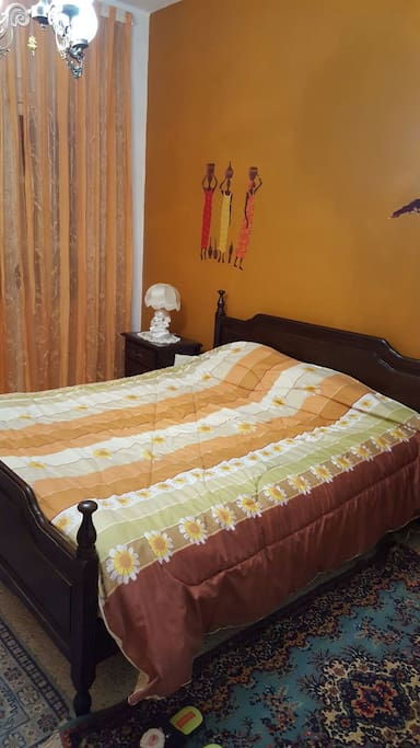 Chambre deco africain