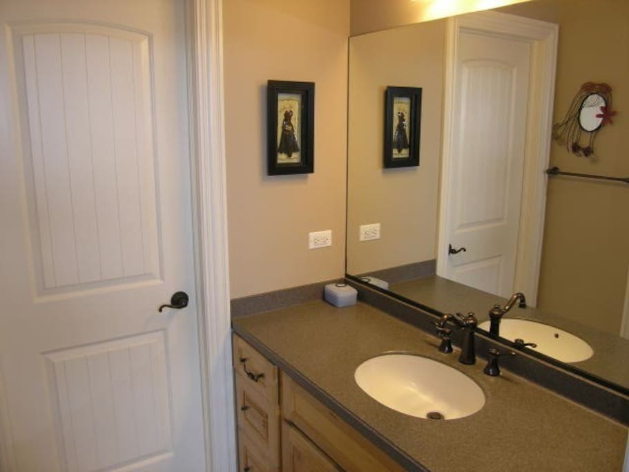 bathroom shared with other bedroom