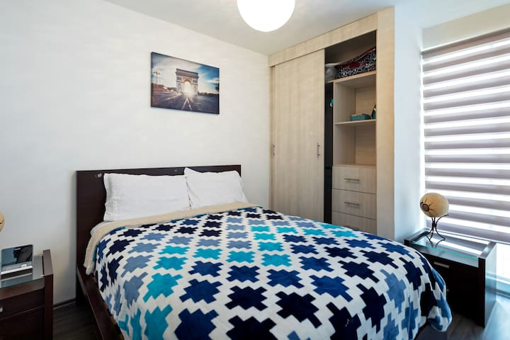 NEW CozyFlat near from Bellas Artes Palace by sub