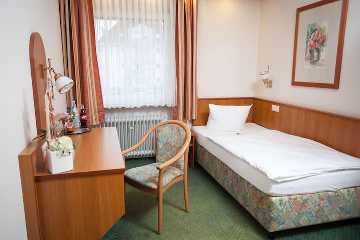 Hotel Zum Prinzen GbR, (Sinsheim), Einzelzimmer mit Dusche und WC