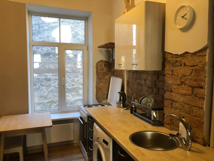 Rustic Style apartment Riga
