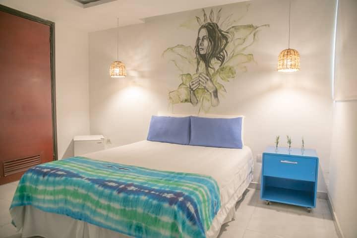 Habitación Pequeña con baño privado