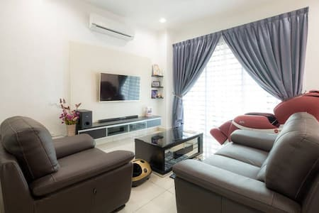 Comfy Double Room, H/S Broadbands with Attached BR - Bukit Mertajam