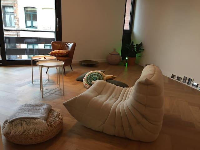 Superbe appartement dans un beau quartier de Mons