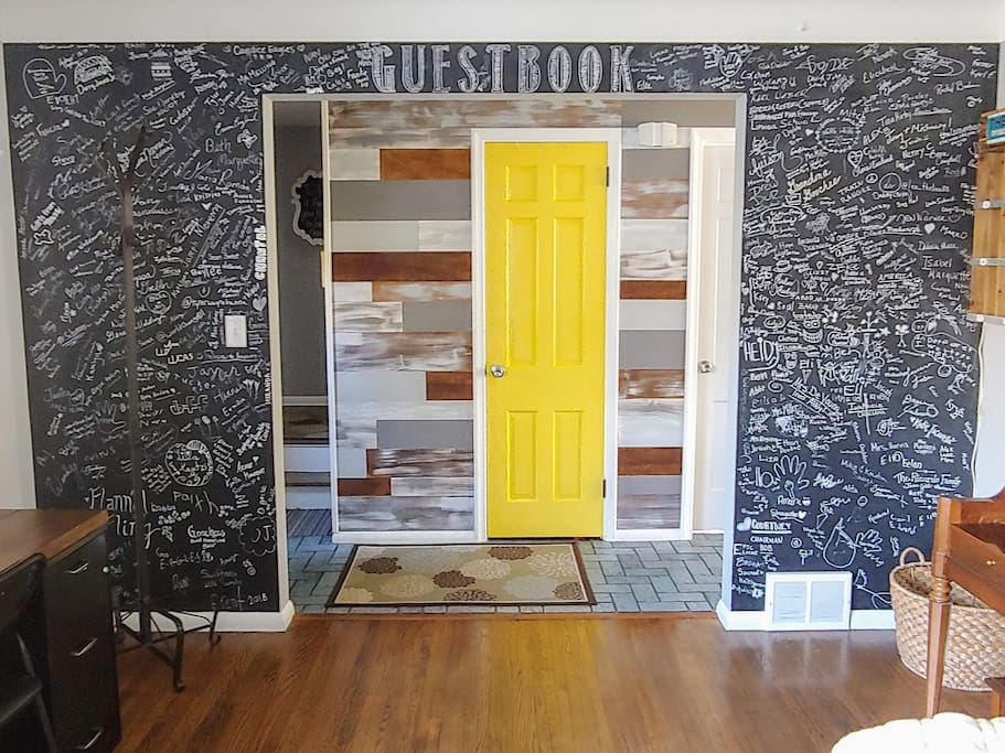Guestbook Wall