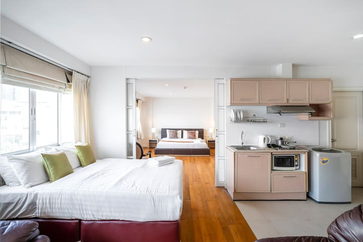 603★Nara Suite Residence Bangkok unto 6guests