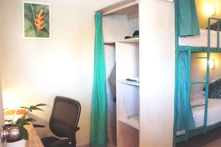 Cozy Room with work space in the outskirt of Kuta