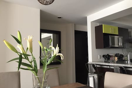 Room in new apartment in colony Naples - Ciudad de México - Huoneisto