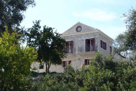 Holiday Villa in Paxos - Sea View - Ieromonachos - Villa