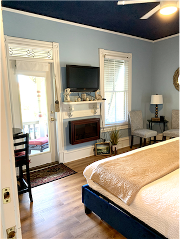 King Suite with a private balcony