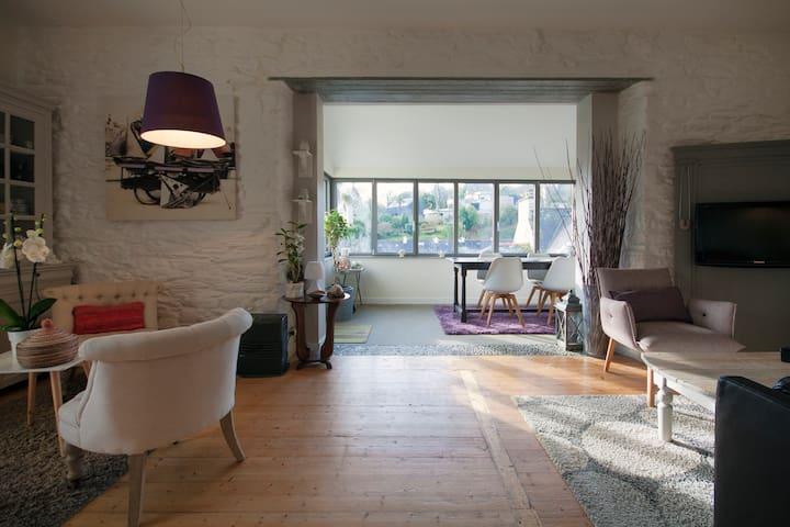 Maison au calme à 50 m de la mer - Le Relecq-Kerhuon