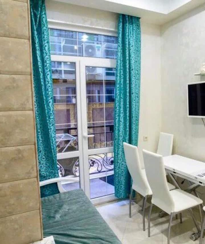 Апартаменты в стиле Классик с отдельной спальной.