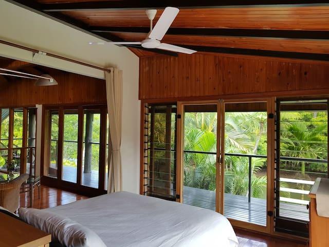 Master Bedroom - Upstairs. Ceiling Fan