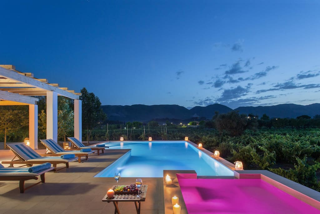 Villa Elissavet - Pool with a view