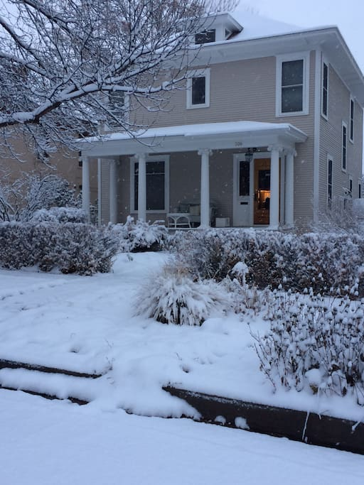 Front of House Winter