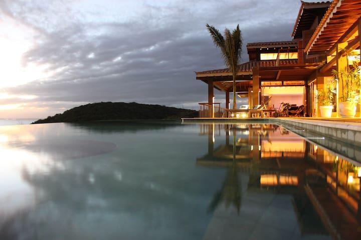 Luxury villa Buzios Rio de Janeiro (two bedrooms)