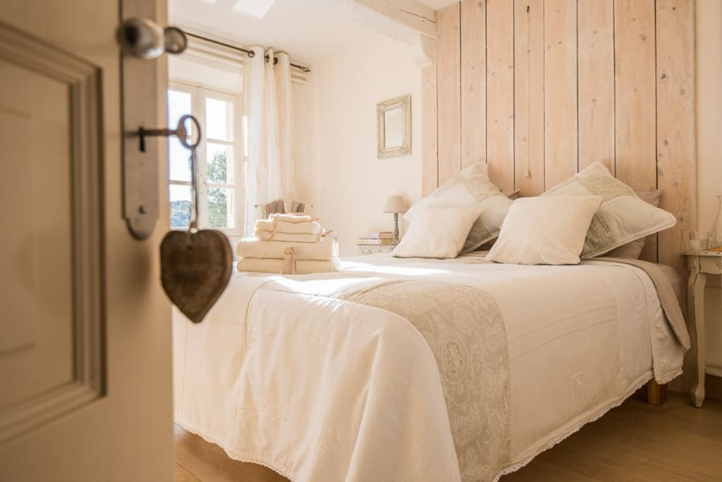 One of the charming bedrooms