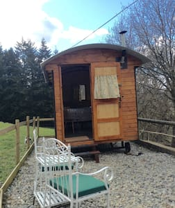 "Shepherd' Hut "" Jessica"" a Tyn-y-fron - Llandderfel - 小屋"
