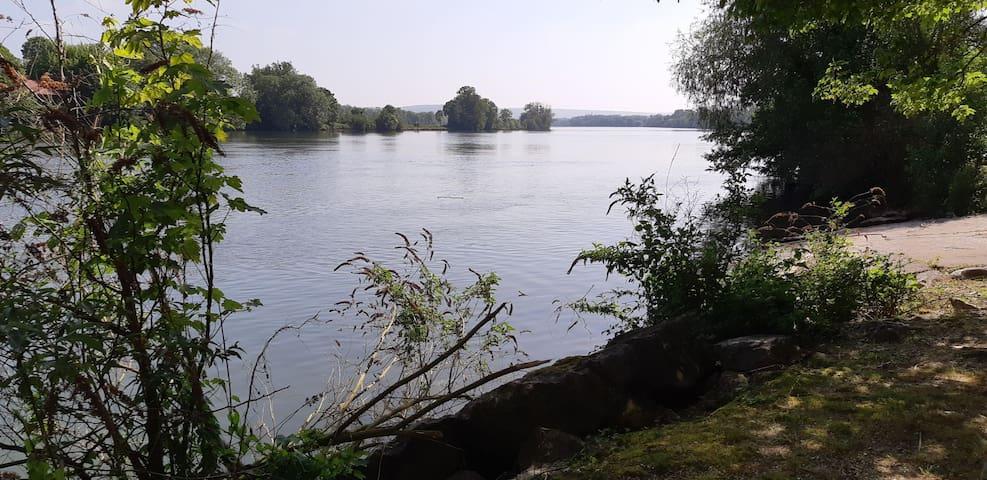 bord de Seine à 5 minutes à pied