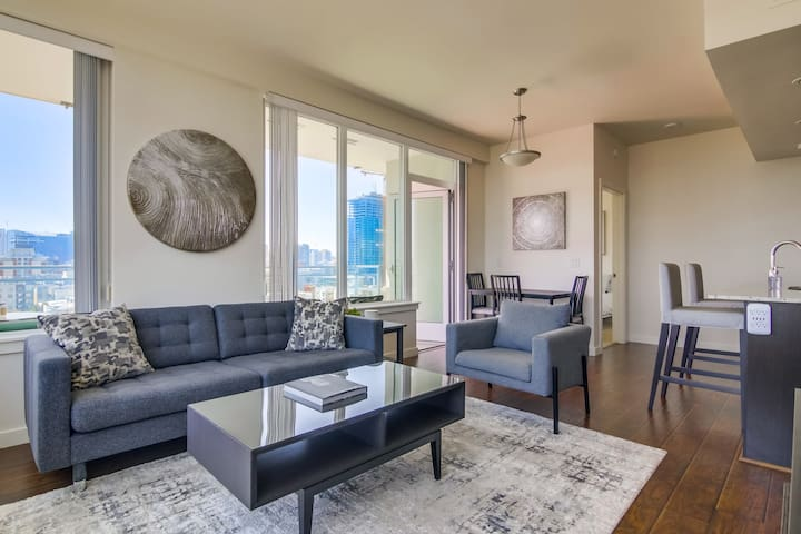 Exclusive Downtown San Diego 2 Bedroom Apartment