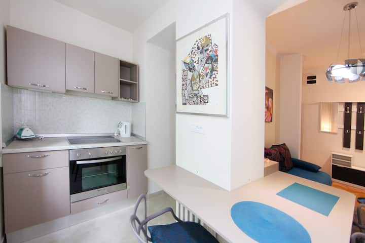 *PROMO* Downtown apartment with PARKING 5e/day