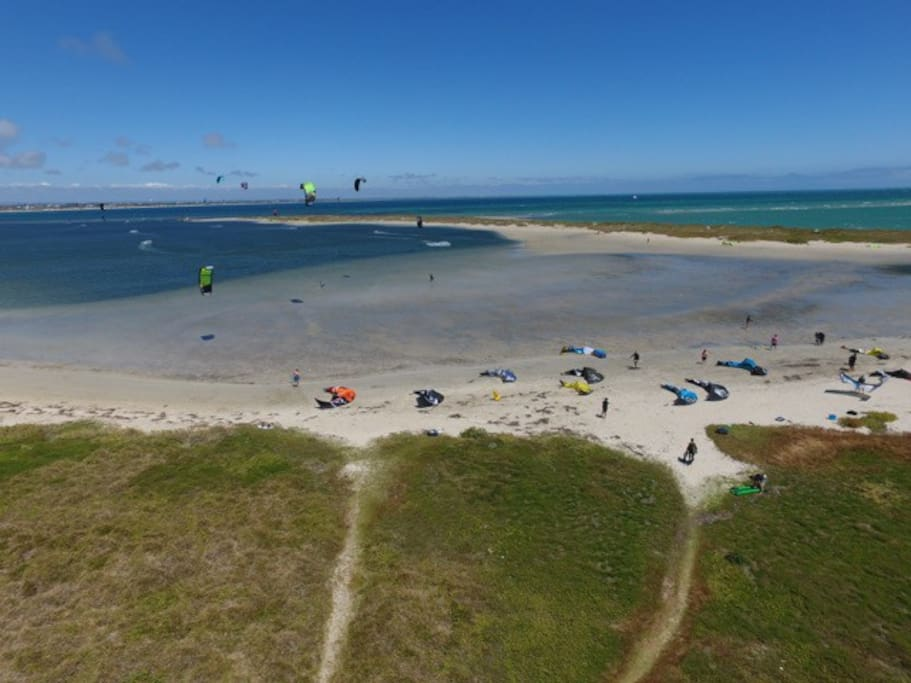 The Pond Kiteboarding and Windsurfing Spot