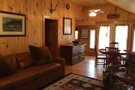Rustic Cabin with 5 star amenities on Elk Creek! - Pine
