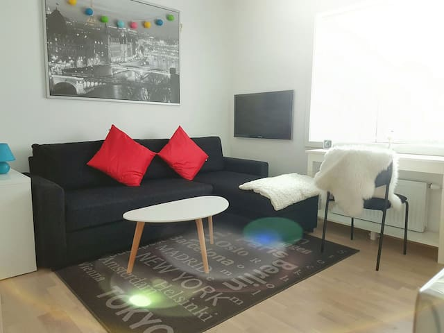 Sparkling new studio apt. in a great place - Oslo - Wohnung