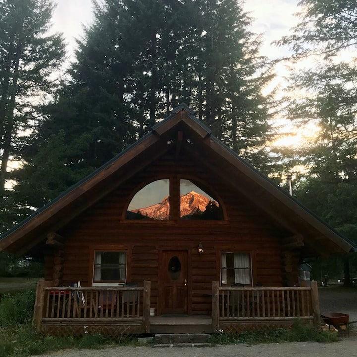 *Mt. Hood View* Burke Cabin
